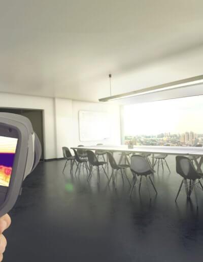 Flächenheizung Installation in Solingen mit Elektrohartkopf