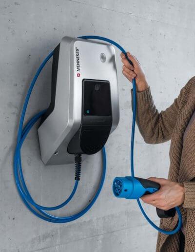 Kabelhandling Elektroauto Elektrotechnik Hartkopf