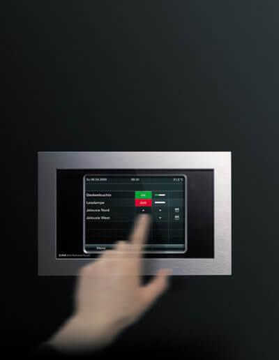 Kleine KNX-Anlage mit Touch Elektrotechnik Solingen