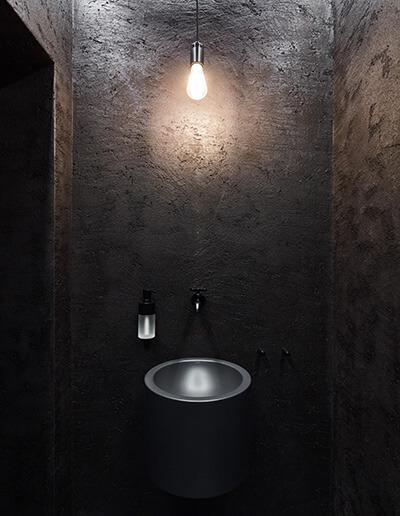 Vila Stöcken Badezimmer mit Elektriker aus Solingen