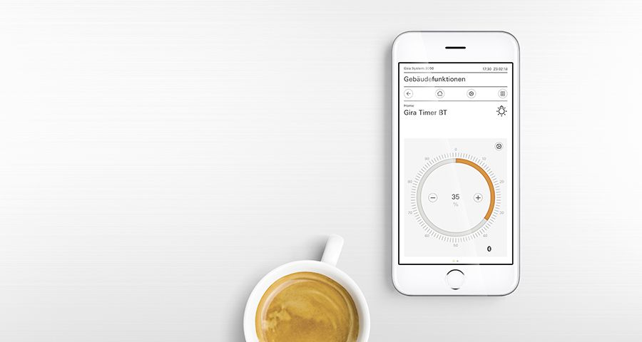 Gira System 3000 App Steuerung