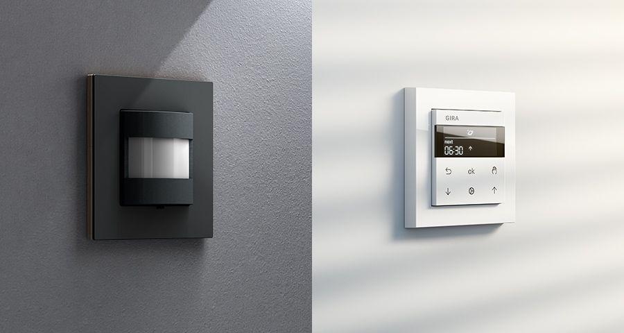 Gira System 3000 Licht und Jalousiesteuerung